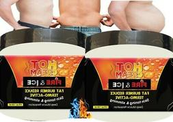 2 Men Slimming Cream Fat Burning Muscle Belly Stomach Reduce
