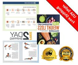 21-Day Ketogenic Diet Weight Loss Challenge Recipes with wel