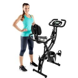 3-in-1 Folding Upright Exercise Bike Weight loss Health Moni