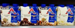 4 BOTTLES  - Atkins High Protein YOU PICK FLAVOR Shake Weigh