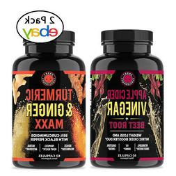 Angry Supplements Apple Cider Vinegar + Beet Root Capsules,