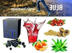 Blue Energy Blend Energy Drink for Fitness + Weight Loss & I