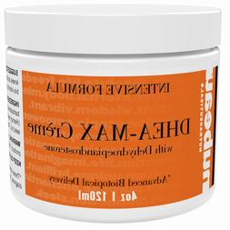DHEA-MAX: DHEA Cream for Men and Women, Unscented, 2 Month S