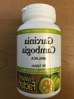 Natural Factors Garcinia Cambogia 750mg 90 Tablets Diet Weig