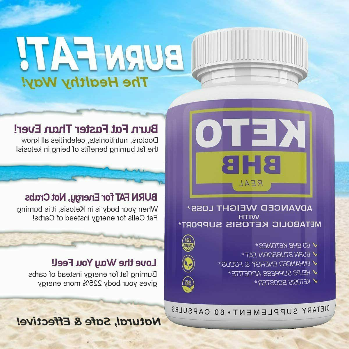 KETO REAL-ADVANCED WEIGHT LOSS MONTH CAPSULES **FAST