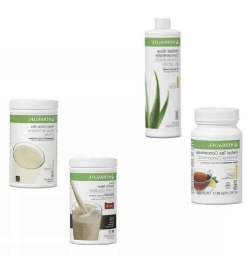 BRAND NEW-HERBALIFE STARTER KIT-HEALTHY NUTRITION-WEIGHT FLAVORS