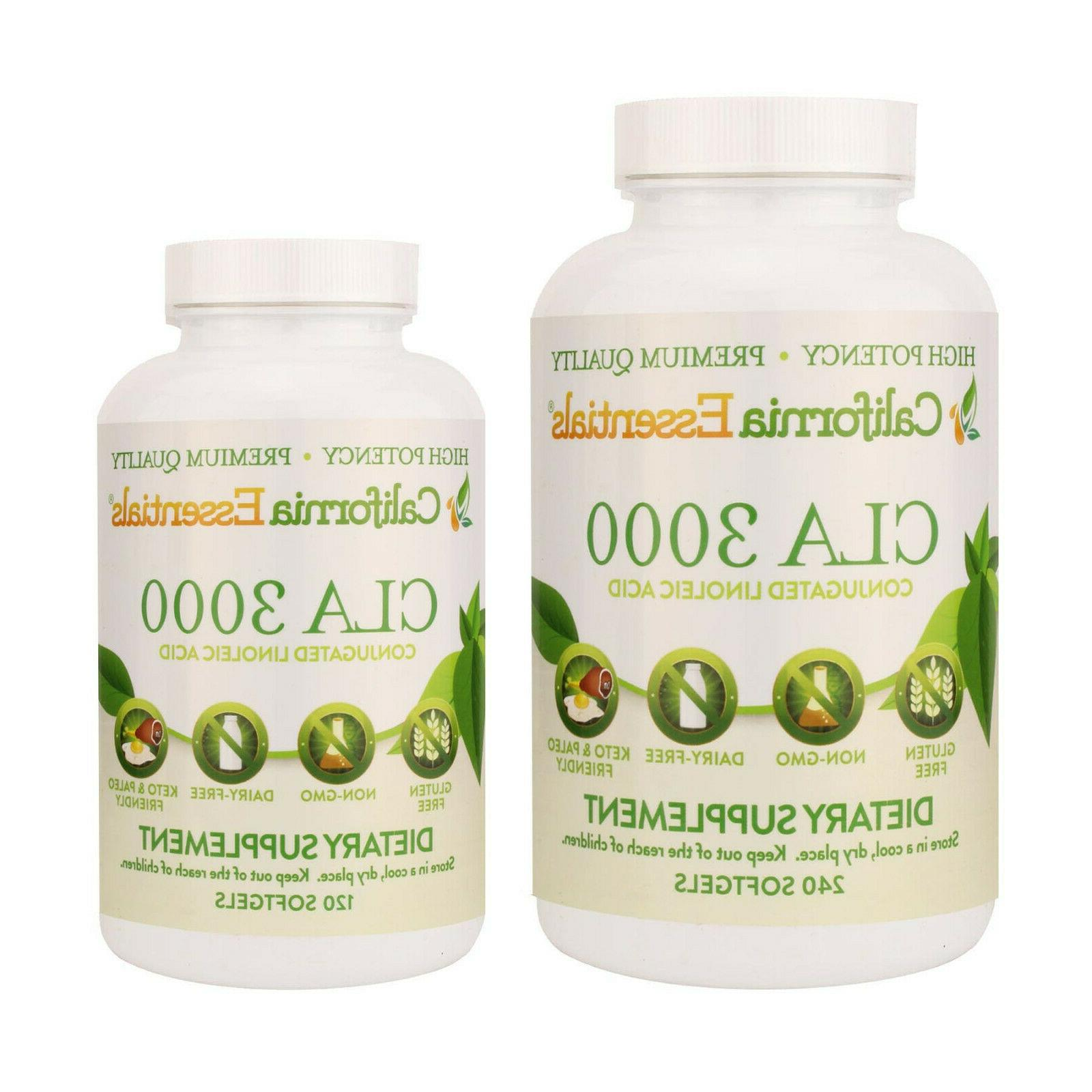 cla 3000 natural weight loss exercise enhancement