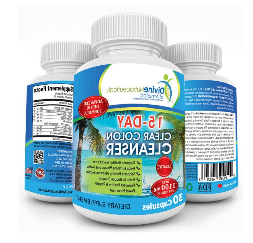 clear colon cleanser and detox for weight