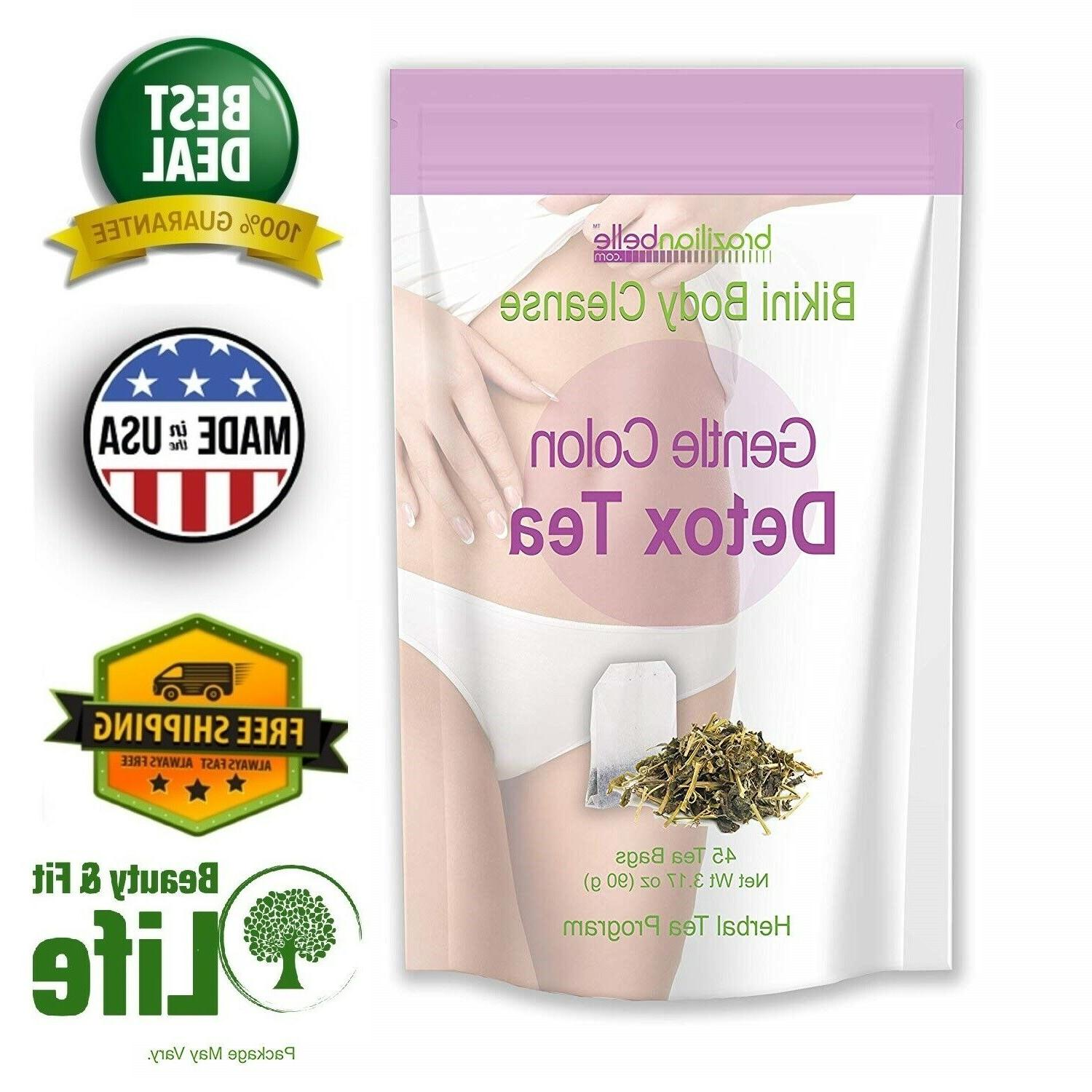 DETOX TEA SKINNY FIT 45 Bags Weight Loss Night Time Body Col