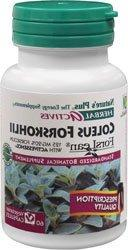 Nature's Plus Herbal Actives Coleus Forskohlii 125 mg 60 VC