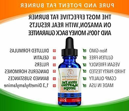 Mother Nature's Original Fat Blasting with African Mango Extract