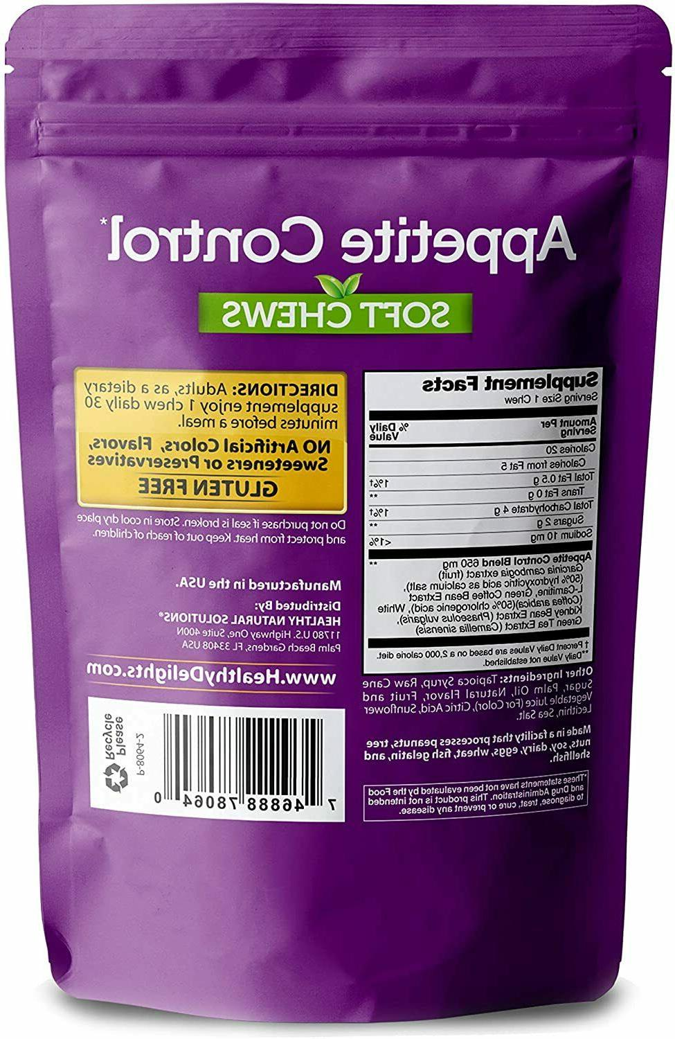 Natural Appetite Soft Chews for Loss Diet,Acai