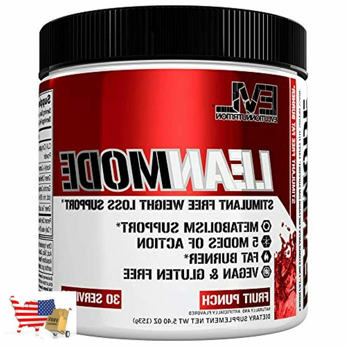 nutrition lean mode stimulant free weight loss