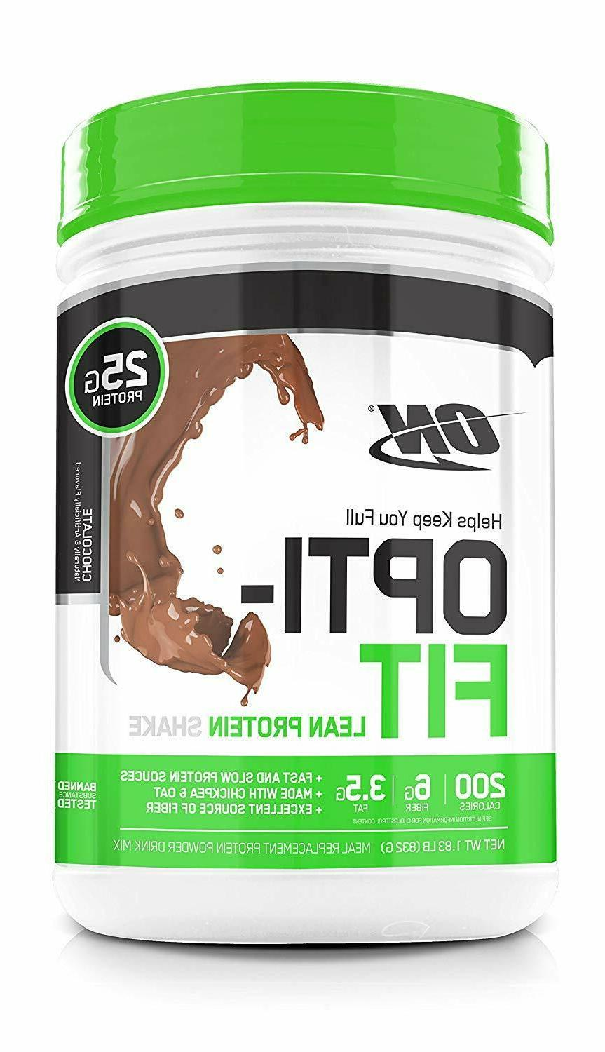 Optimum Nutrition ON Opti Fit Meal Replacement Lean Protein