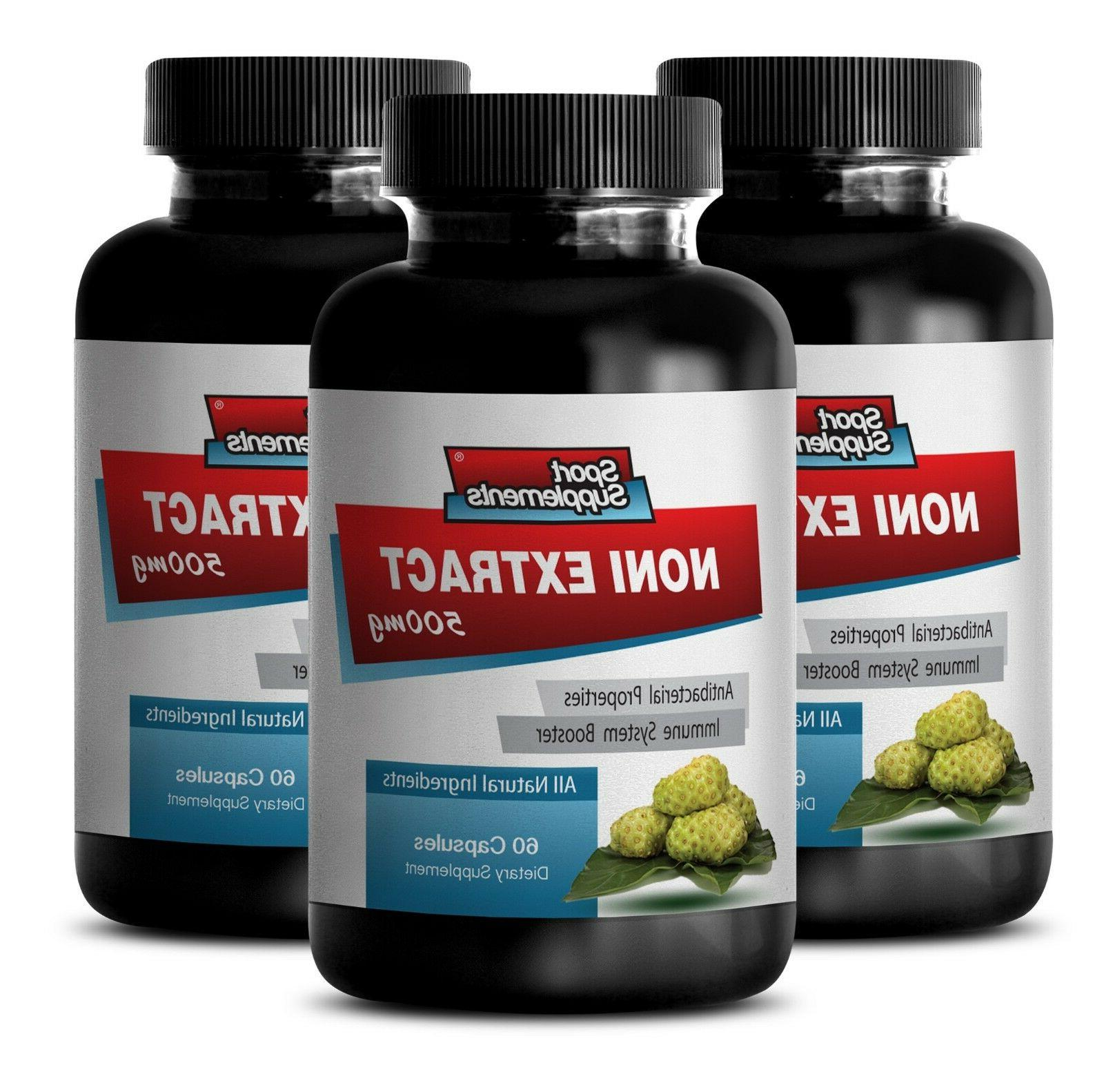weight loss supp - NONI EXTRACT 500mg - 3 Bottles - brain me
