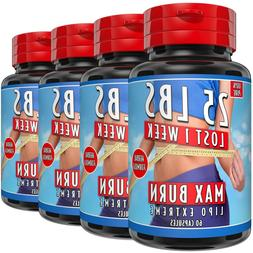 LIPO EXTREME WEIGHT LOSS SLIMMING PILL FAST FAT BURNERS STRO