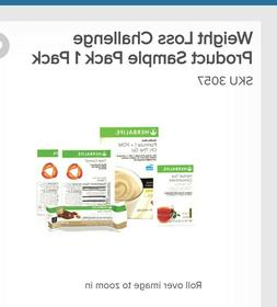 HERBALIFE distributor Weight Loss Challenge Product Sample P