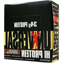 Universal Nutrition Hi Protein Bar, Chocolate Peanut Butter,