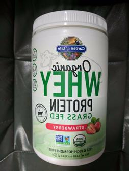 Garden of Life Organic Whey Protein Grass Fed Strawberry 13.