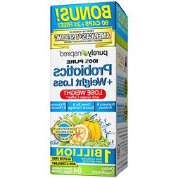 Purely Inspired Probiotics and Weight Loss, 84 Count