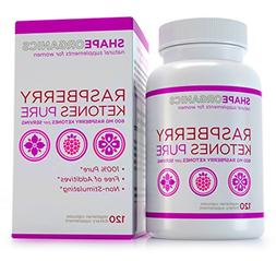 Shape Organics Raspberry Ketones Pure for Fat Reduction and