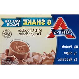 Atkins Ready to Drink Shake, Milk Chocolate Delight, 11 Ounc
