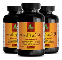 Senna capsules - 15 DAYS CLEANSE COMPLEX 3B - weight loss pr