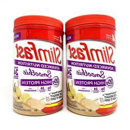SlimFast High Protein Smoothie Mix 24 Serving Meal Replaceme