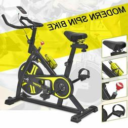 stationary exercise bike cardio cycling fitness equipment