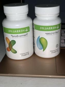 HERBALIFE THERMO BOND& CELL U LOSS 90 tablets each. New & Se