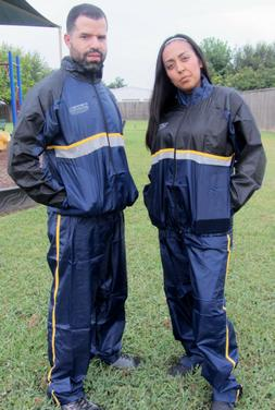 Unisex ~ Sauna Sweat Suit ~ Dual Layer ~ Fitness Weight Loss