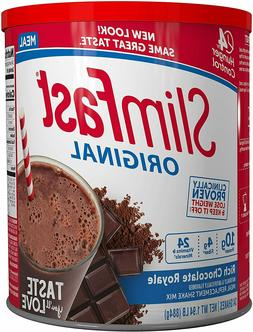 Weight Loss Powder Slim Fast Rich Chocolate Shake Mix Meal R